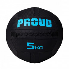 Piłka lekarska WALLBALL 5 kg - PROUD