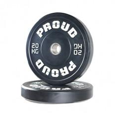 Obciążenie olimpijskie TRAINING BUMPER PLATE 2.0 20kg - PROUD