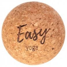 Pojedyncza piłka do masażu z korka EASY YOGA (średnica: 8cm)