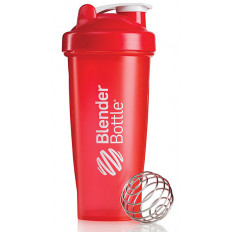 SHAKER CLASSIC - 820ml Blender Bottle (czerwony)