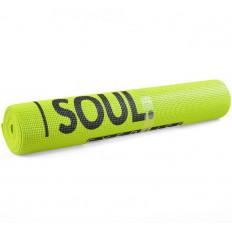 Mata do yogi BODY AND SOUL PROFIT (limonkowa)