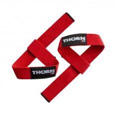 Paski do podnoszenia ciężarów lifting Strap THORN+FIT (czerwone)