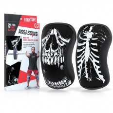 Stabilizatory na kolana Assassins Knee Sleeves 5mm - ROCKTAPE (Skull)