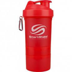 SHAKER STANDARD - 600ml Smart Shake (neonowy czerwony)