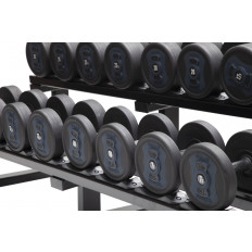 Zestaw Hantli Poliuretanowych 5 - 25 kg (9 par) Natural Strength