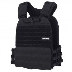 Obciążeniowa kamizelka do ćwiczeń Tactic Weight Vest (black, 20LB) THORN+FIT