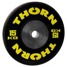 Talerz olimpijski 15 kg THORN+FIT