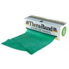 Taśma rehabilitacyjna 1,5 m mocna Thera Band (zielona)