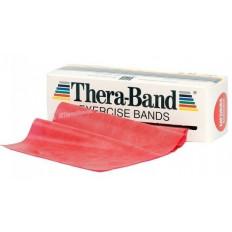 Taśma rehabilitacyjna 2,5 m średnia Thera Band (czerwona)