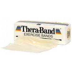 Taśma rehabilitacyjna 2,5 m bardzo słaba Thera Band (beżowa)