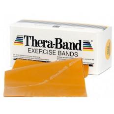 Taśma rehabilitacyjna 2,5 m maksymalnie mocna Thera Band (złota)