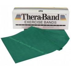 Taśma rehabilitacyjna 2,5 m mocna Thera Band (zielona)