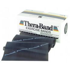 Taśma rehabilitacyjna 2,5 m specjalnie mocna Thera Band (czarna)