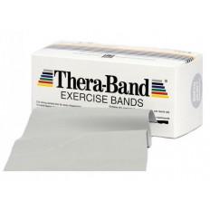 Taśma rehabilitacyjna 2,5 m super mocna Thera Band (srebrna)