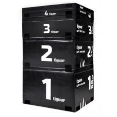 Box do skoków (zestaw) plyo soft box tiguar