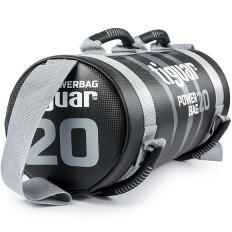 Powerbag worek do ćwiczeń 20 kg tiguar (szary jasny)