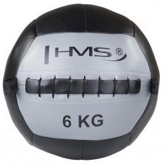 Piłka lekarska WALL BALL 6 kg HMS