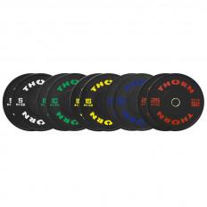 Zestaw Obciążeń Training Plate 2x 5 - 25kg THORN+FIT