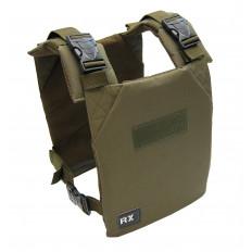 Kamizelka obciążeniowa RxVest 9kg RX Athletic Gear (wojskowa zieleń)