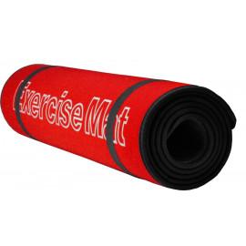 Mata do ćwiczeń fitness 180x60 cm Allright (czerwona)