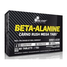 Olimp -  BETA-ALANINE  Carno Rush Mega Tabs® - 80 tabl.