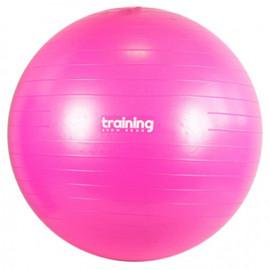 Piłka gimnastyczna SWISS BALL PREMIUM - 55 cm TSR (różowa)