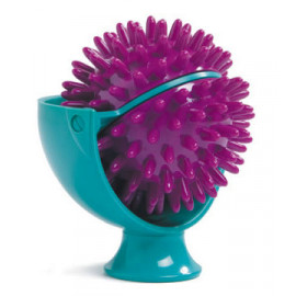 Spiky massage ball roller
