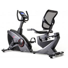 Rower elektryczno magnetyczny leżący HS-070L Helix z IConsole+ Hop Sport (szary)