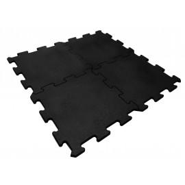 Podłoga Puzzel gumowa 1000 x 1000 x 15 mm (czarna)