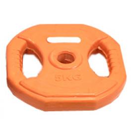 Obciążenie BODY PUMP 5 kg (pomarańczowe)