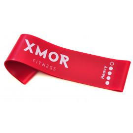 Guma oporowa MINI BAND ciężka XMOR (czerwona)