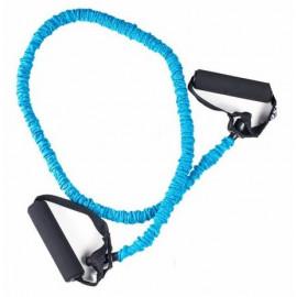 Ekspander treningowy mały opór Easy Fitness (niebieski)