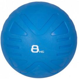 Piłka lekarska MEDICINE BALL 8 kg - PROUD (niebieska)