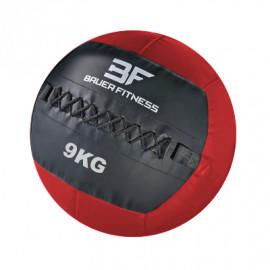 Piłka Wall Ball 9 kg CFA-1772 BAUER FITNESS (czerwona)