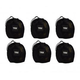 System podwieszeń TRX PRO CLUB 4 PACK (6 zestawów)