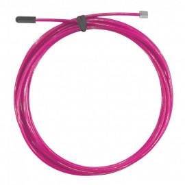 Wymienna stalowa linka do skakanki 2.0 THORN+FIT (różowa)